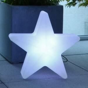 Moree LED dekorační hvězda Star, kabel, 40x40cm