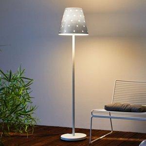 Moree Stojací lampa Swap Outdoor, silver stars
