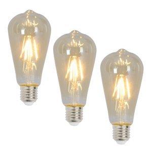 Näve E27 LED žárovka 4 Watt 300 Lumen 3ks 2200 K