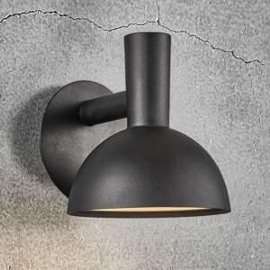 Nordlux Venkovní nástěnné světlo Arki černá Ø 20 cm