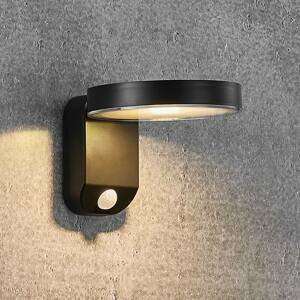 Nordlux LED solární nástěnné světlo Rica Round, kulaté