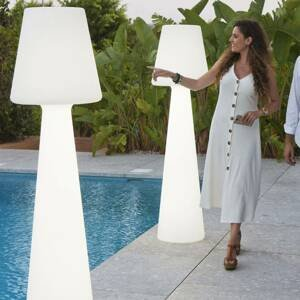 NEWGARDEN Newgarden Lola stojací lampa 165 cm teplá bílá