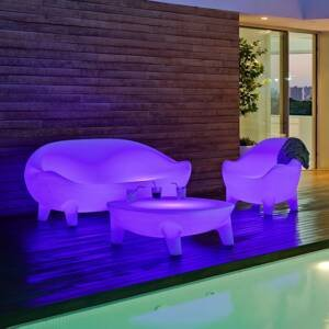 NEWGARDEN Newgarden Aruba LED křeslo, solární + baterie