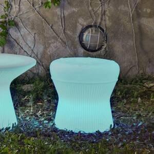 NEWGARDEN Newgarden Corfu LED stolička 40cm solární+baterie