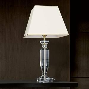 Orion Stolní lampa Pokal s křišťálem zlatá/krémová