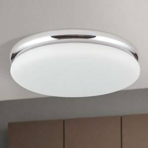 Orion LED stropní světlo James s kovovým krytem, chrom