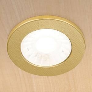 Orion LED nábytkové podhledové světlo Artist 3ks mosaz