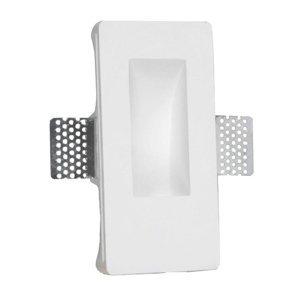 Pamalux LED nástěnné zapuštěné světlo Zementos ze sádry
