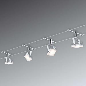 Paulmann Paulmann Meta LED lankový systém kompletní, 4x