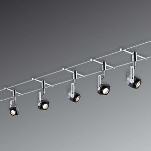 Paulmann Paulmann Phase LED lankový systém, 5 žárovek