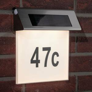 Paulmann Paulmann solární osvětlení čísla domu s LED, IP44