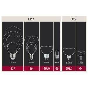 Paulmann Paulmann LED žárovka E27 filament zelená 1,1W