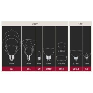 Paulmann Paulmann LED pinová žárovka G9 2,4W 2700K 2ks
