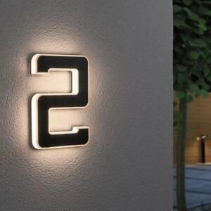 Paulmann Paulmann LED solární číslo domu 2