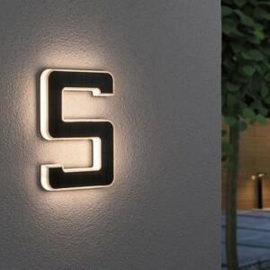 Paulmann Paulmann LED solární číslo domu 5