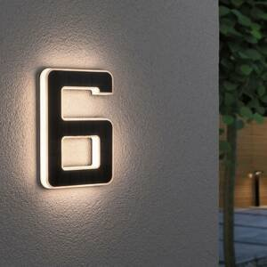 Paulmann Paulmann LED solární číslo domu 6