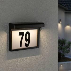 Paulmann Paulmann Dayton LED solární osvětlení čísla domu