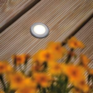 Paulmann Paulmann House podlahové světlo IP65 kulaté ploché