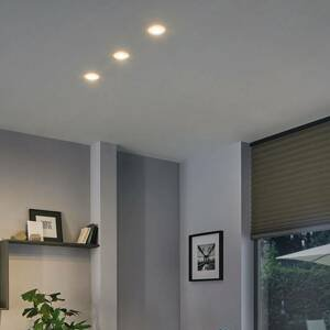 Paulmann Paulmann Suon LED podhledové světlo, stmívač, 3ks