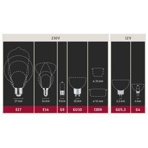 Paulmann Paulmann GU5.3 4.9W reflektor 819 černá/zlatá