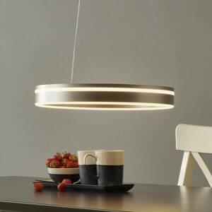 Q-SMART-HOME Paul Neuhaus Q-VITO LED závěsné světlo 40cm ocel