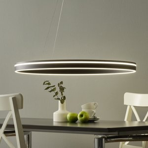 Q-SMART-HOME Paul Neuhaus Q-VITO závěsné světlo 79 cm antracit