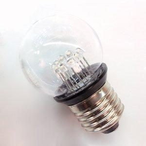 Rotpfeil E27 0,85W LED žárovka-kapka Deco golf 2, čirá