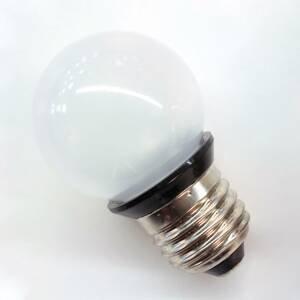 Rotpfeil E27 0,85W LED žárovka Deco Gold Ball 2, matná