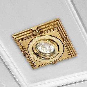 RIPERLamP LED podhledové bodové svítidlo Katia zlatá patina