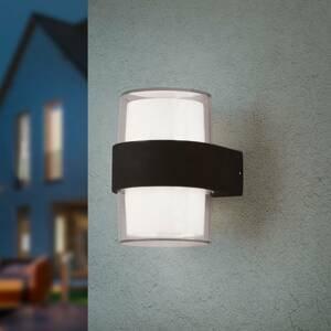 Reality Leuchten LED venkovní světlo Molina, kulaté, antracit