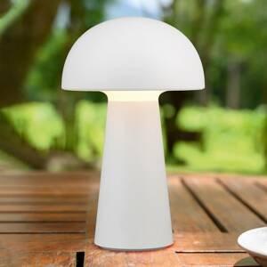 Reality Leuchten LED stolní lampa Lennon s baterií, bílá