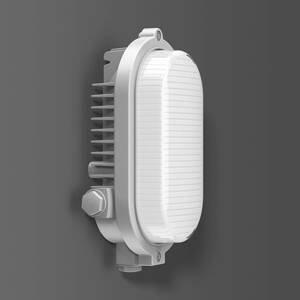 BEGA RZB Areno venkovní světlo IP66 stříbrné/bílé 840