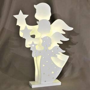 Saico LED dekorativní světlo 3D anděl