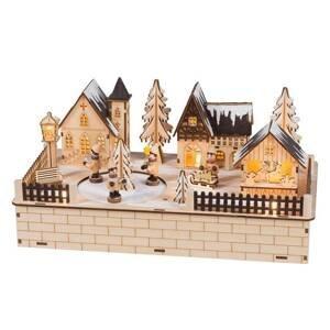 Saico Vánoční vesnice - LED oblouk Otáčecí figurky