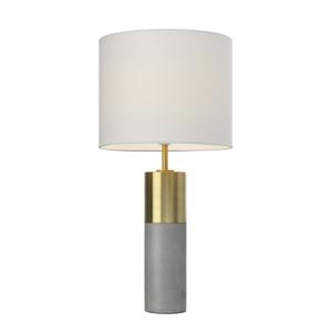 Villeroy & Boch Villeroy & Boch Turin stolní lampa, beton 25 cm