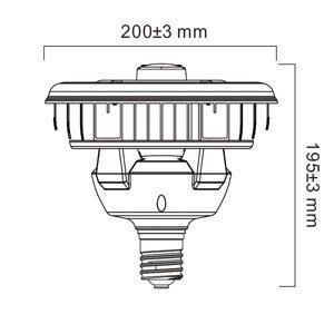 Sylvania Sylvania LED žárovka E40 včetně PIR 80W 4000K