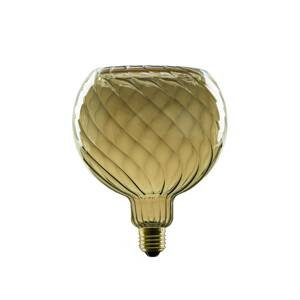 Segula SEGULA LED-Floating-Globe G150 E27 8W twist šedá
