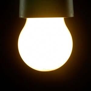 Segula SEGULA LED žárovka E27 G45 827 matná