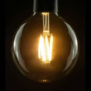 Segula SEGULA LED žárovka globe G120 E27 10W 827 čirá