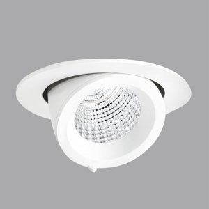 PERFORMANCE LIGHTING Zapuštěný reflektor EB431 LED spot, bílý, 3000K