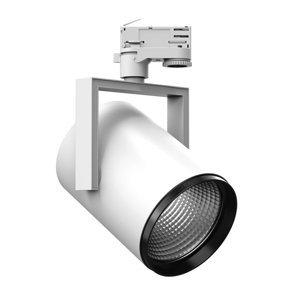 PERFORMANCE LIGHTING 3fázový spot AS425 LED Medium, univerzální bílá