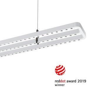 PERFORMANCE LIGHTING LED závěsné světlo Small Line, senzor, 126cm, bílá
