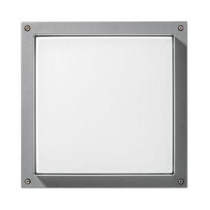 PERFORMANCE LIGHTING Nástěnné světlo Bliz Square 40 3 000 K, šedá