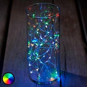 Sirius LED světelný řetěz Knirke multi, RGB, 40 zdrojů