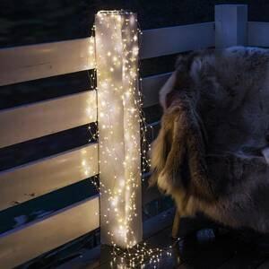 Sirius LED světelný řetěz Knirke venkovní, 200 zdrojů