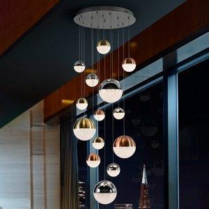 Schuller LED závěsné světlo Sphere multicolor 14 zdrojů, ap
