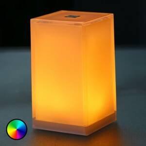 Smart&Green Stolní lampa Cub balení 6ks ovládání aplikací RGBW