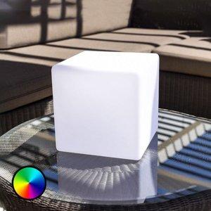 Smart&Green Dekor stolní lampa Dice, přes aplikaci RGBW 25 cm