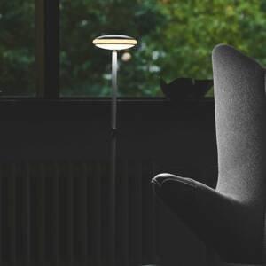 SHADE LIGHTS Shade ØS1 stojací lampa prsten černá noha bílá