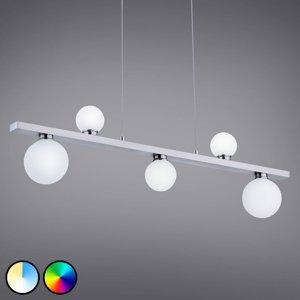 Trio Lighting Trio WiZ Dicapo LED závěsné světlo, pětižárovkové